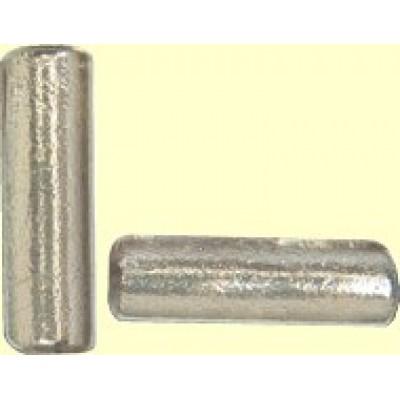 1 Green Clear Dichroic Tube Bead
