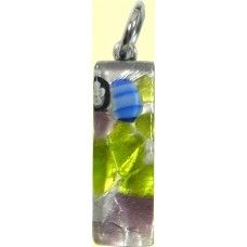 Murano Glass Small Oblong Pendant