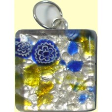 Murano Glass Medium Square Pendant