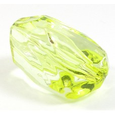 Faceted Acrylic Nugget Bead Jonquil