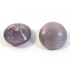 1 Purple Bohemian Satin Glass Button