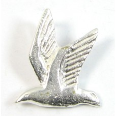 1 sterling silver Flying Bird Charm