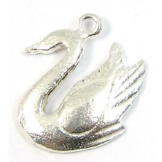 1 sterling silver Swan Charm