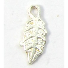 1 sterling silver Teeny Tiny Leaf