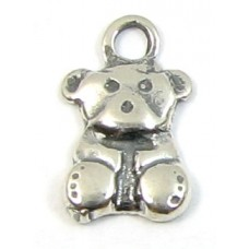 1 sterling silver Little Teddy Charm