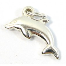 1 sterling silver Dolphin Charm