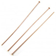 50 Pure Copper 2 inch Headpins