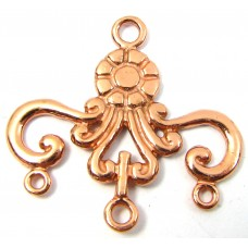 1 Pure Copper Spacer or Earring Chandelier