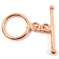 1 Pure Copper Toggle Clasp