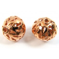 1 Pure Copper Lantern Bead