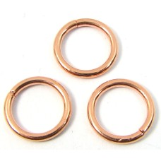 10 Pure Copper 10mm Jumprings