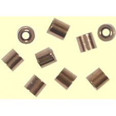 100 Copper Plated Tube Crimps