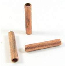 2 Pure Copper Brushed Tubes
