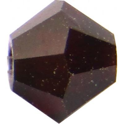 100 Garnet Preciosa Crystal 4mm Bicone Beads