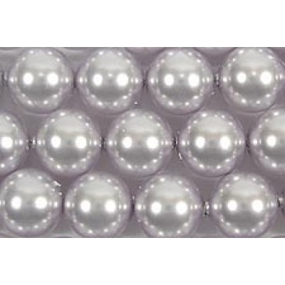 1 strand Swarovski 6mm Crystal Lavender Pearls