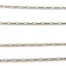 1 cm Sterling Silver Fine Beading Chain