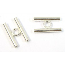 1 Sterling Silver Double Tube Spacer