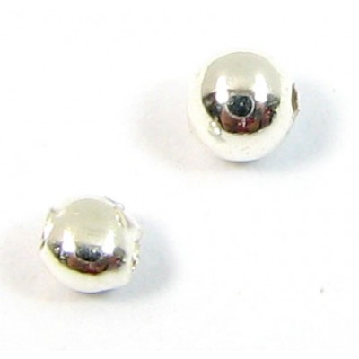 1 Sterling Silver Add A Bead Pendant Spare Nut and Bead
