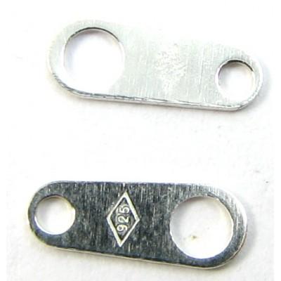 1 Sterling Silver Necklet Tag Marked 925