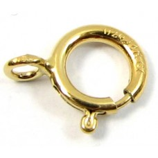 1 Gold Filled 6mm Bolt Ring Clasp