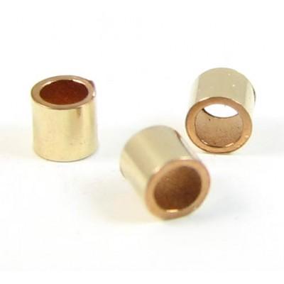 50 Gold Filled 2x2mm Crimp Tubes