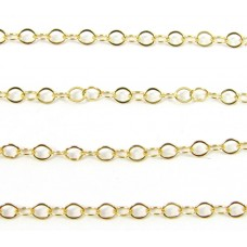1cm Gold Filled Trace Chain