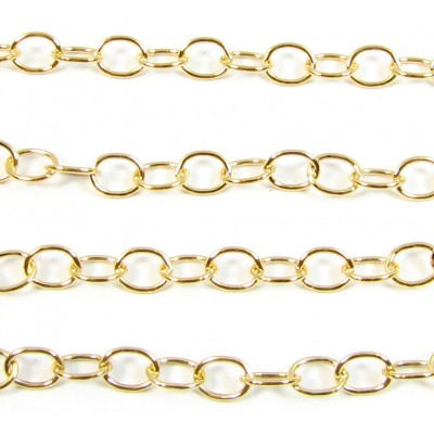 1 Centimetre14k/20 Gold Filled Chain
