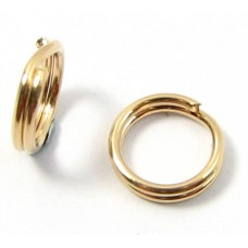 1 Gold Filled 6.5mm Split Ring