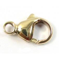 1 14k/20 Gold Filled 11.5mm Caribiner Lobster Clasp