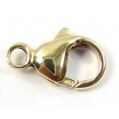1 14k/20 Gold Filled 11.5mm Caribiner Lobster Clasp