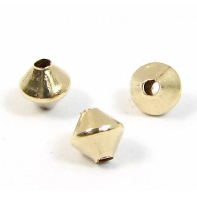 10 14k/20 Gold Filled Bicone Beads