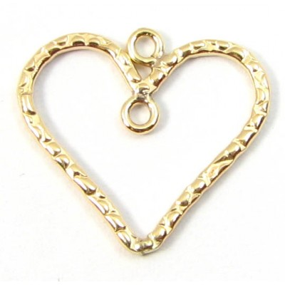 1 Gold Filled Heart Dangle