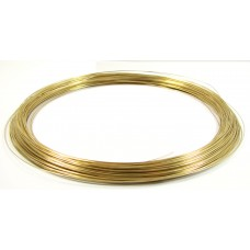1 Metre Gold Filled Wire 28g, 0.3mm.