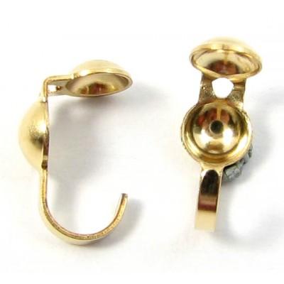 2 14k/20 Gold Filled Calotte/ Necklace Ends