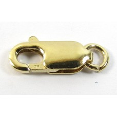 1 Gold Filled 12mm Lobster Clasp with Jump Ring