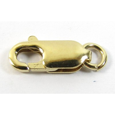1 14k/20 Gold Filled 12mm Lobster Clasp with Jump Ring