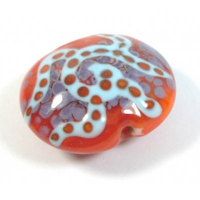 1 Handmade Glass Large Focal Bead