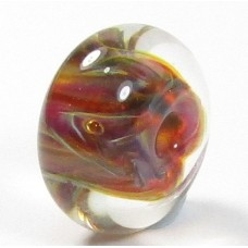 Handmade Borosilicate Glass Focal Bead