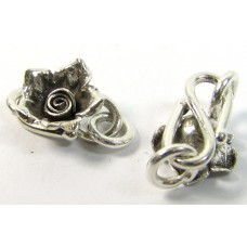 1 Karen Hill Tribe Silver Rose S Clasp