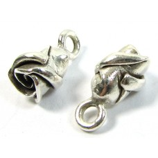 1 Karen Hill Tribe Silver Mini Rose Charm