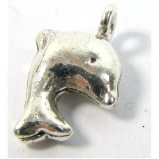 1 Karen Hill Tribe Silver Leaping Dolphin Charm