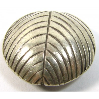 1 Karen Hill Tribe Silver Lentil Bead