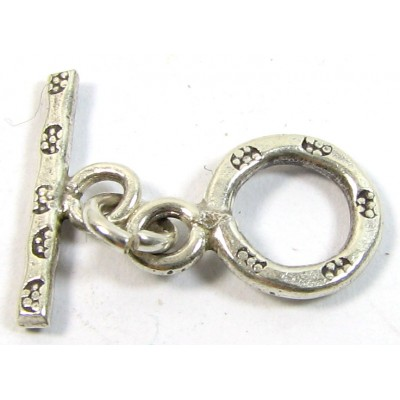 1 Karen Hill Tribe Silver Mini Toggle Clasp