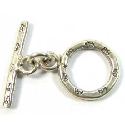 1 Karen Hill Tribe Silver Toggle Clasp