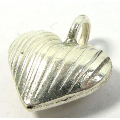 1 Karen Hill Tribe Silver Heart Pendant