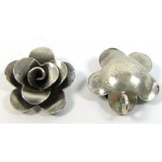 1 Karen Hill Tribe Silver Rose Pendant