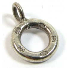 1 Karen Hill Tribe Silver Loop Charm
