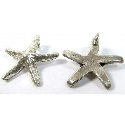 1 Karen Hill Tribe Silver Starfish Pendant