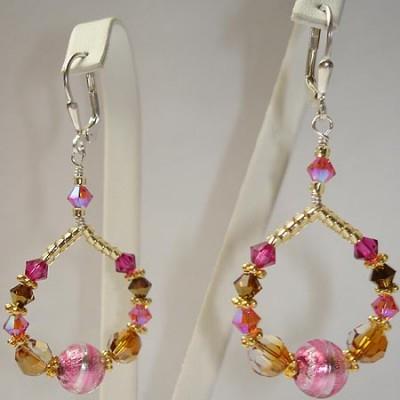 Venetian Sparkle Earrings Kit