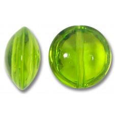 1 Murano Glass Erba Lentil Bead